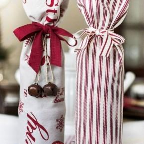 идеи упаковки вина в подарок
