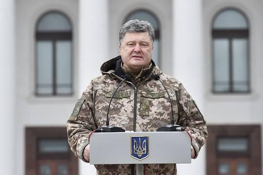 Украина сворачивает гражданскую войну на Донбассе: У Порошенко нет возможности наступать