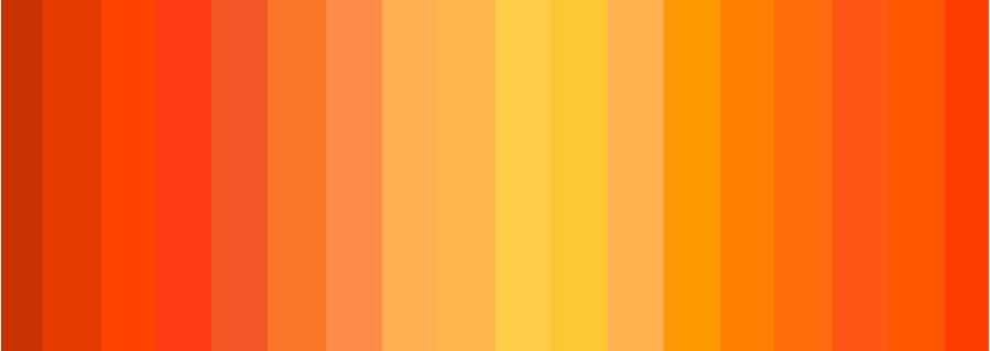 Тренд: все оттенки оранжевого