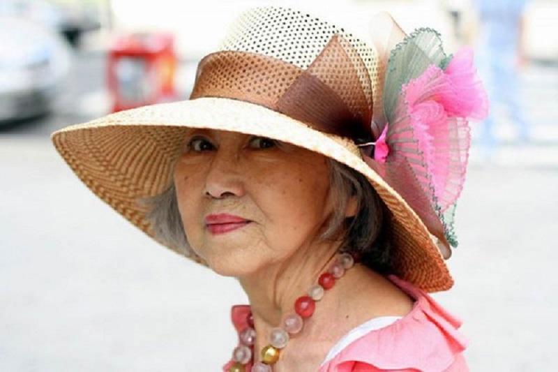 женщины в старости