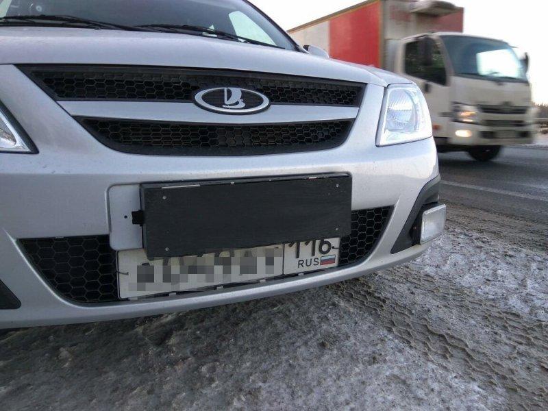 В Татарстане испытывают дорожные камеры замаскированные под автомобиль