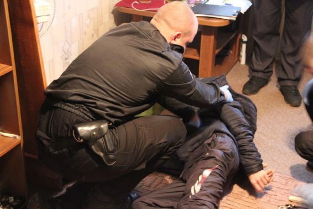 СРОЧНО: К главарю нацистов С14 ворвались силовики (ФОТО)