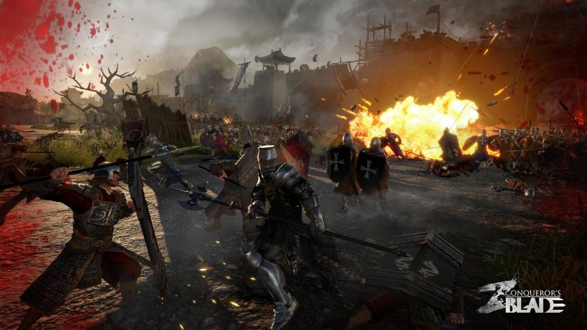 Авторы Conqueror's Blade показали огромный безмятежный мир