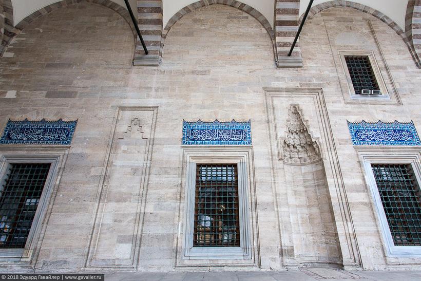 Самые красивые мечети османских султанов в Стамбуле архитектура