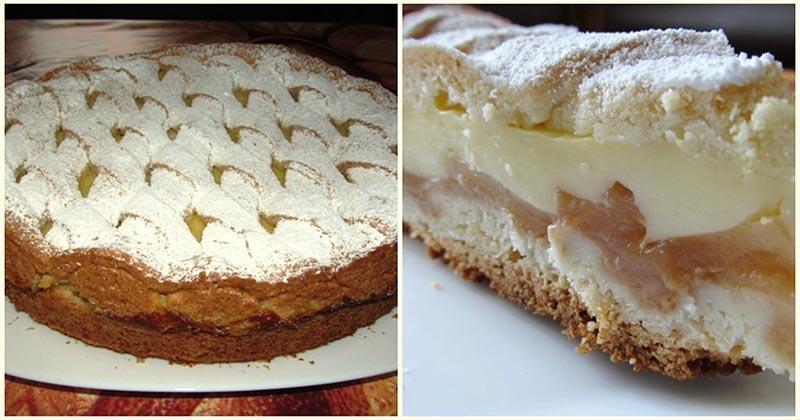 Аппетитная замена шарлотке. Если готовить пирог с яблоками, то только так