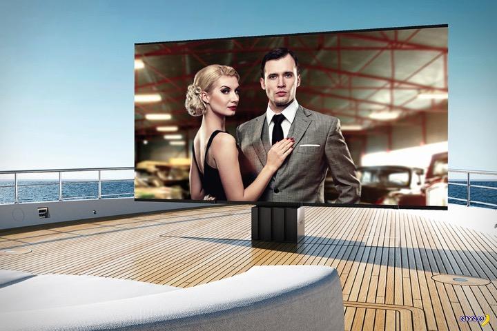 А у вас есть яхта? Купите телевизор!