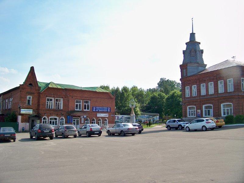 Советская площадь Города России, ивановская область, красивые города, пейзажи, путешествия, россия