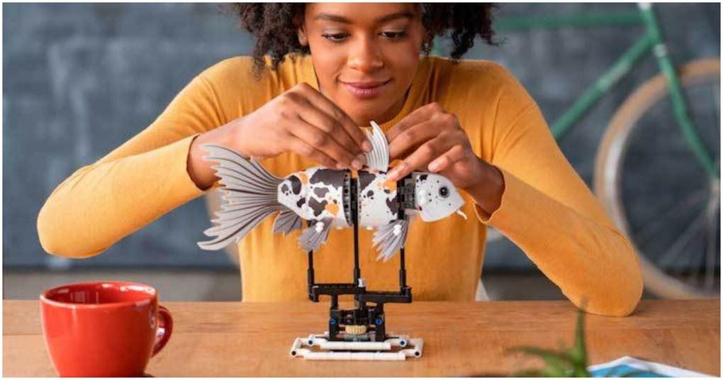 Лего для взрослых: конструктор-антистресс от популярной компании