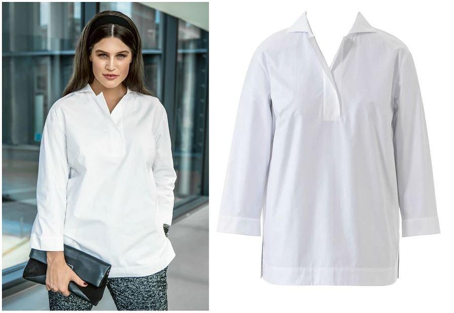 Топ-9 самых стильных блузок для«плюсиков» отBurda