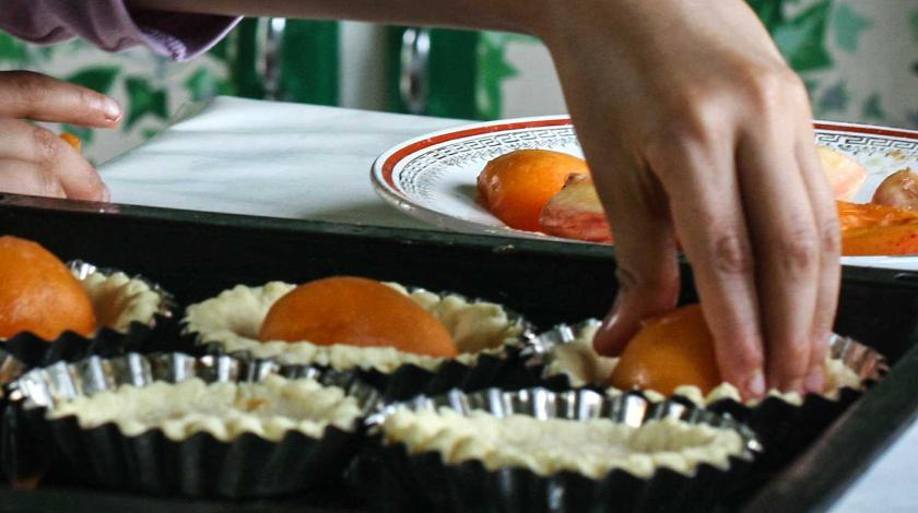 Тарталетки с курицей и апельсином: необычная закуска на Новый год закуски,новогодние блюда