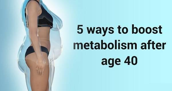 Ускорьте свой метаболизм и измените свою жизнь, даже если вам больше 40