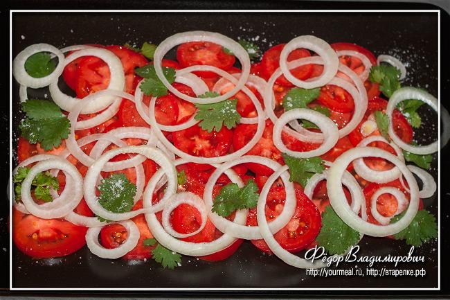 Качумбари — кенийский салат из помидоров