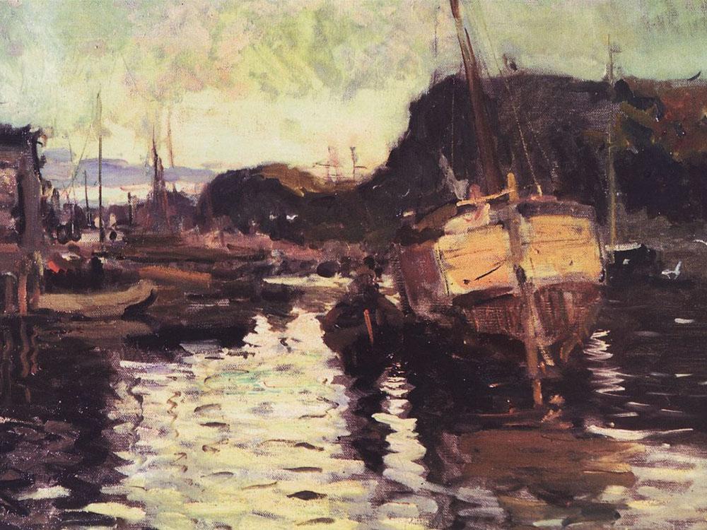 Морские пейзажи Константина Коровина