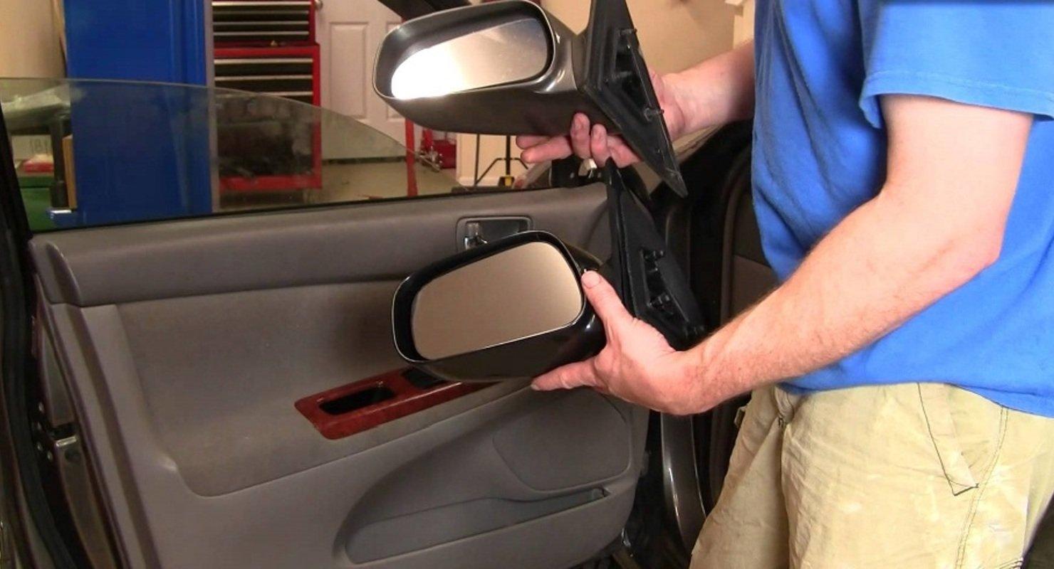 Ремонт зеркал заднего вида в автомобиле Автомобили