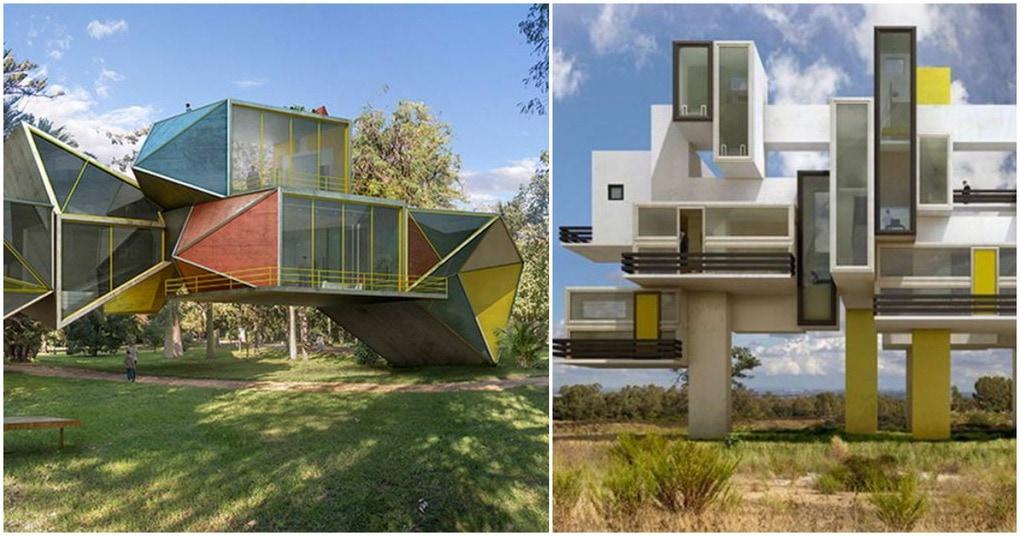 Сюрреализм в нашей реальности: архитектурные строения, которые располагаются на природе и гармонируют с ней
