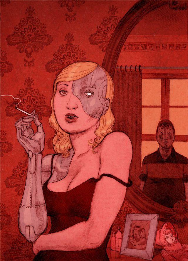 Проблемы современного общества в иллюстрациях бруклинского художника. Жестко и без цензуры!