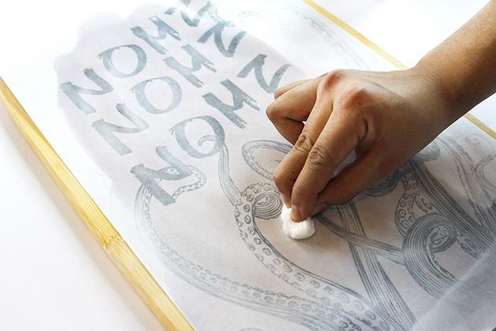Самый простой способ, как перенести любое изображение на ткань или дерево домашний очаг...