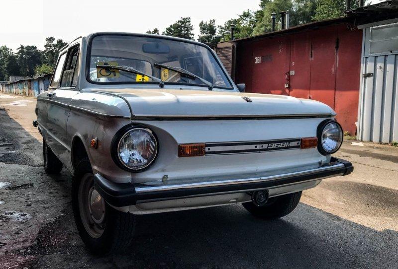 Симпатичный простачок ЗАЗ 968, авто, автомобили, заз, запорожец, капсула времени, ретро авто, янгтаймер