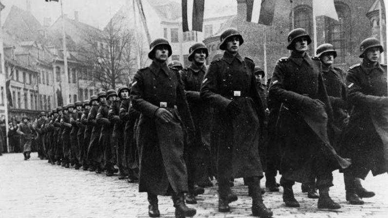 Латышские легионеры СС прошл…