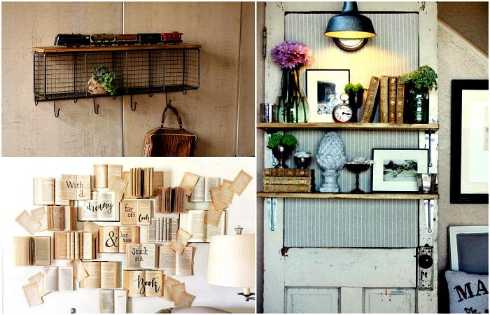 Простые и стильные идеи декора стен