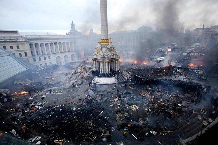 Как на Украине Политика