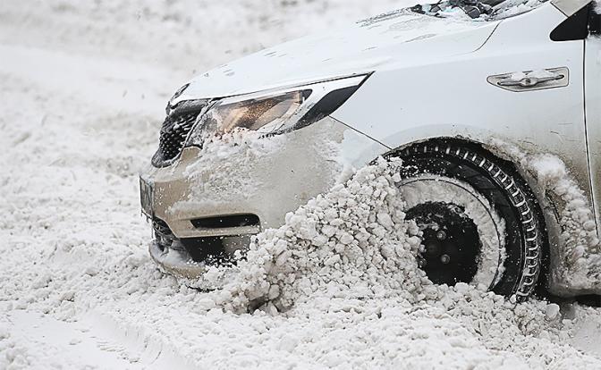 Простые правила езды по снегу авто,автомобиль