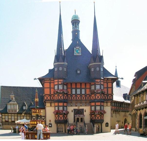 Wernigerode — город-сказка