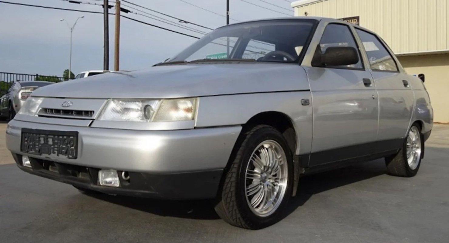 Автомобиль ВАЗ-2110 продают в США за 815 000 рублей Автомобили