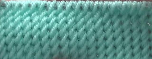 Воздушные узоры спицами