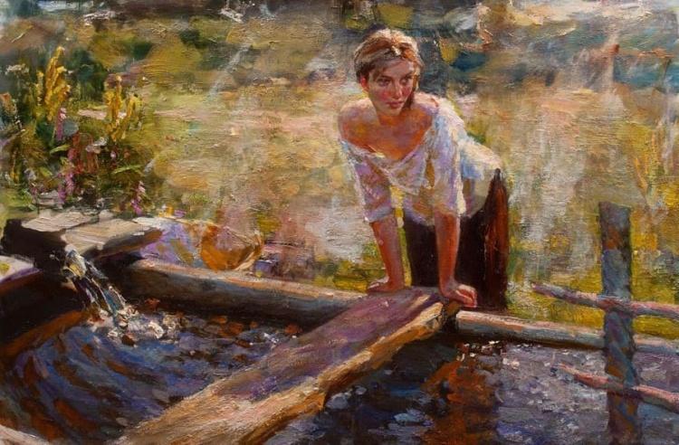 художник Владимир Ежаков (Vladimir Ezhakov) картины – 01