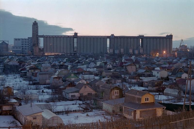 Элеваторы России город, промзона, элеватор, эстетика