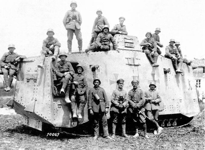Немецкие танки Первой мировой войны