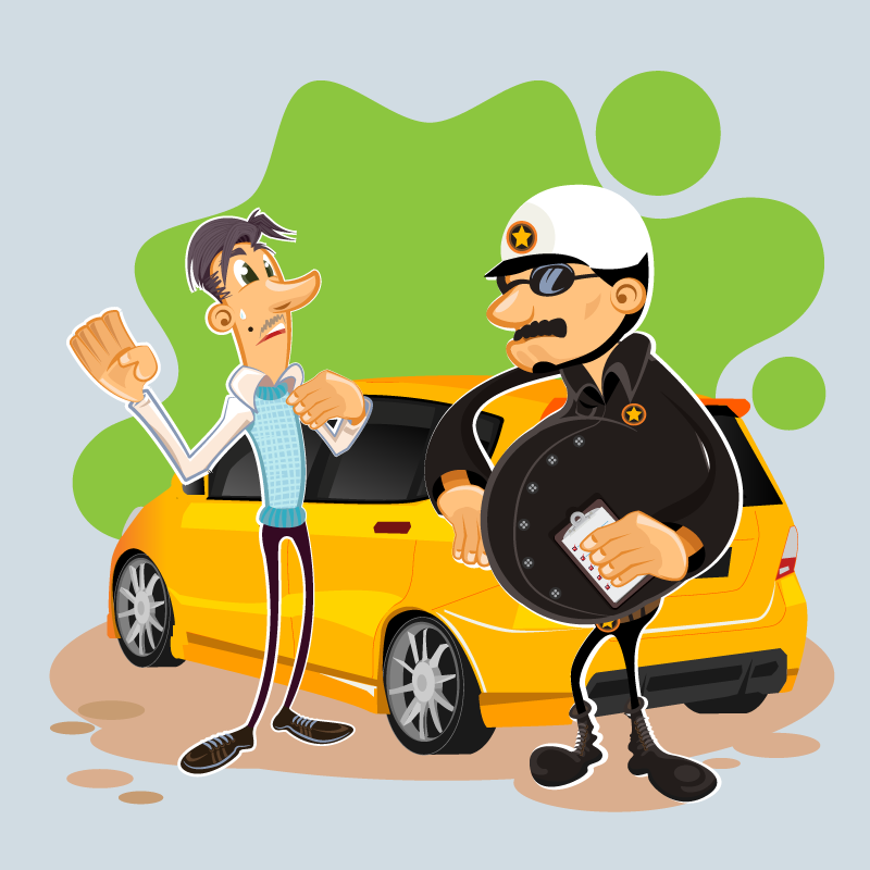 Анекдот о гаишнике, который предлагал водителям подышать в шарик