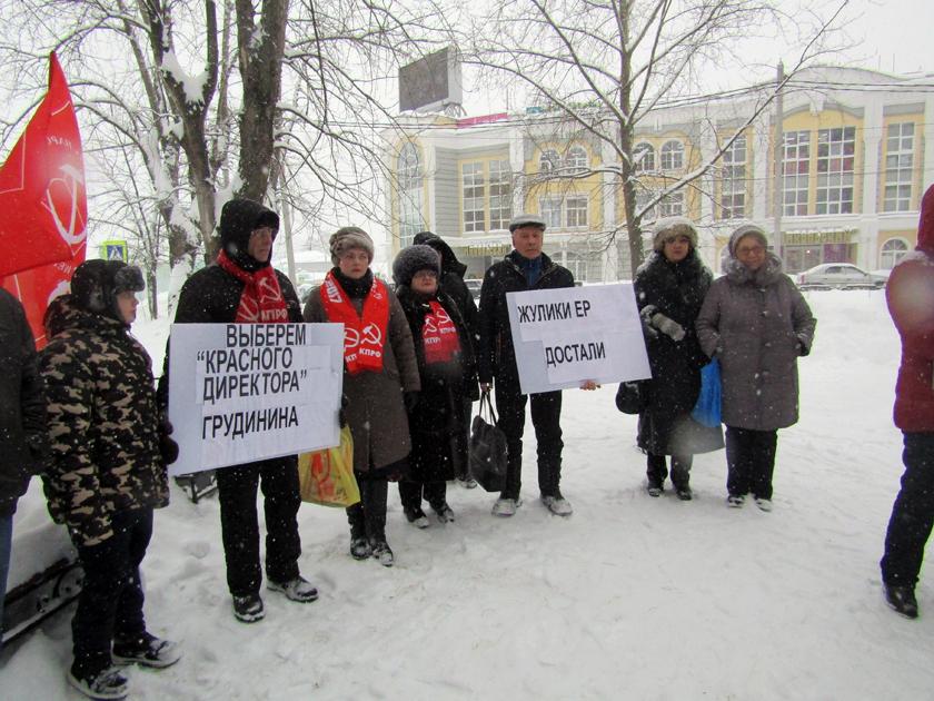 Михаил Поляков. Грудинин теряет поддержку: на его митинги никто не ходит
