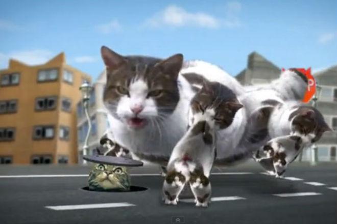 Добро пожаловать в город кошек: самый странный видеоклип в мире