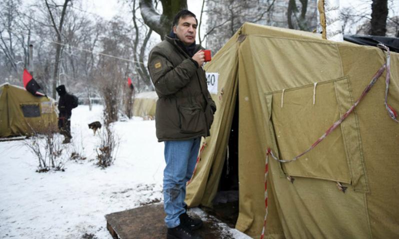 Украинская диета: Саакашвили…