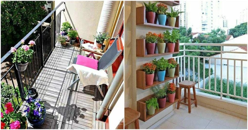 Красивый и уютный балкон: летние идеи для вдохновения