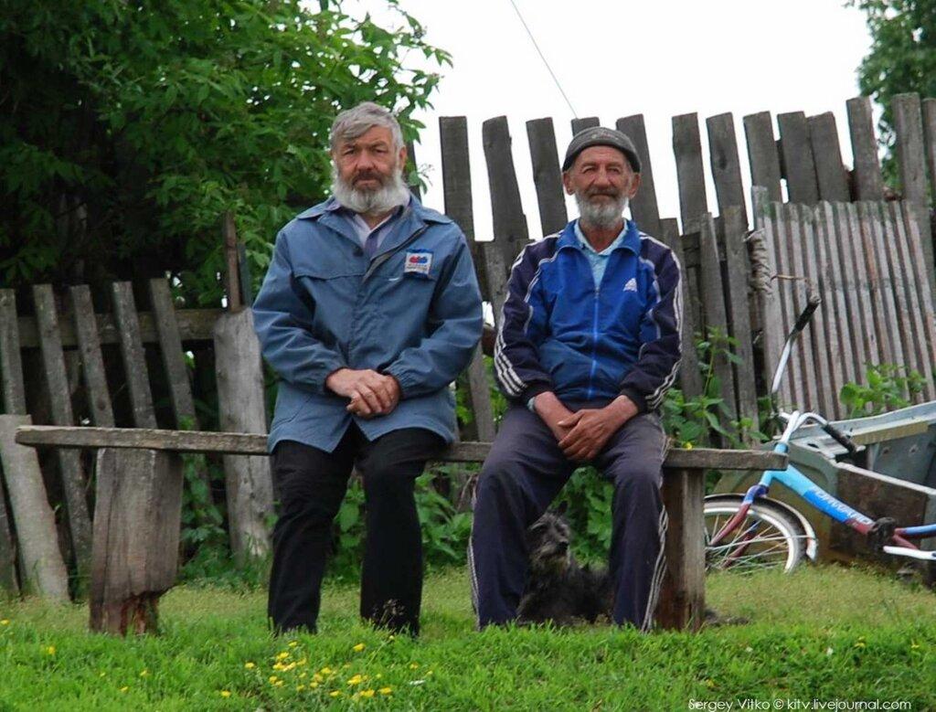 Портреты: вековая самобытность в лицах сибиряков, раскиданных Енисею сел и деревень