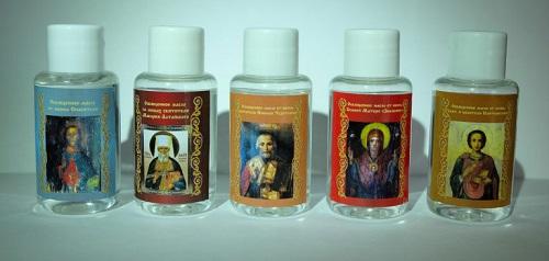 Как пользоваться освященным церковным маслом…