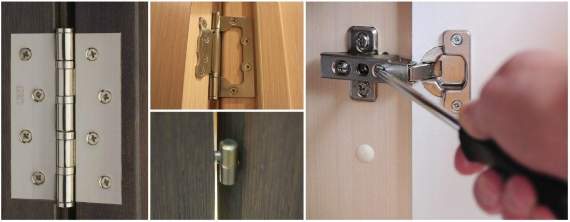 Чем лучше смазать дверные петли и убрать скрип или скрежет