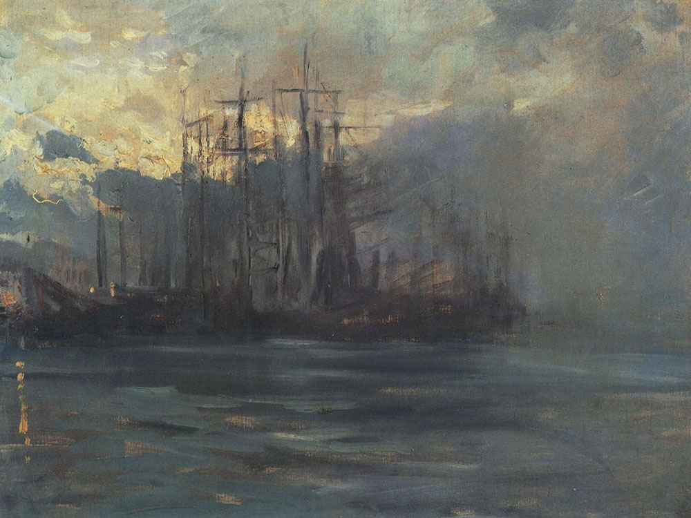 Первые морские пейзажи