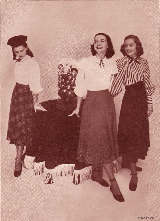 Мода накануне войны: как одевались женщины в 1940-х