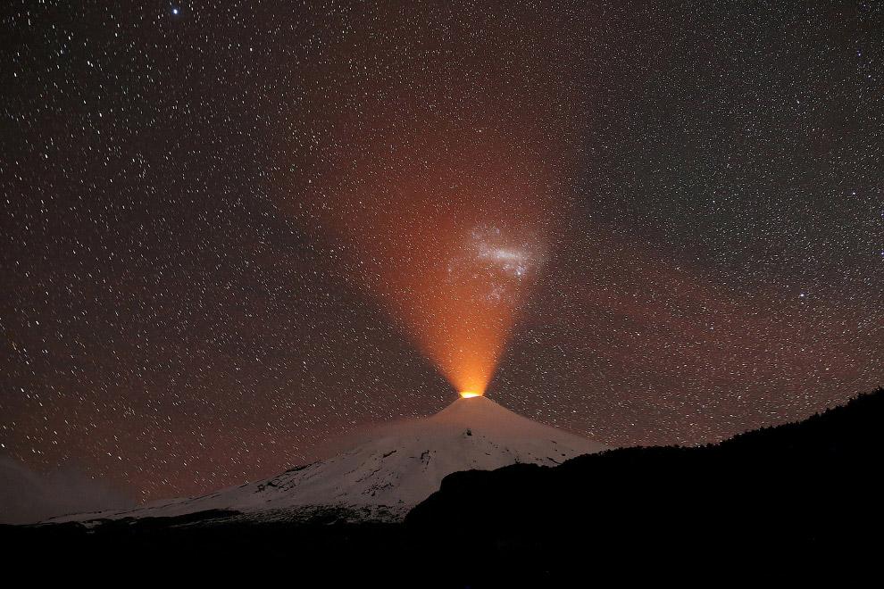 Знакомьтесь, вулкан Вильяррика