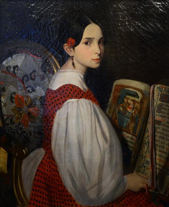 Леопольдина, старшая сестра Адели
