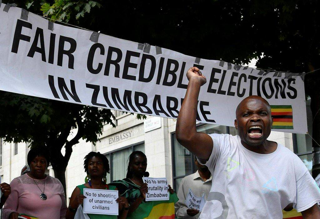 Демократические выборы в Зимбабве
