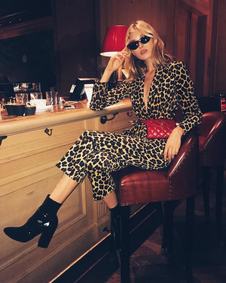 выглядеть стильно в леопардовом принте