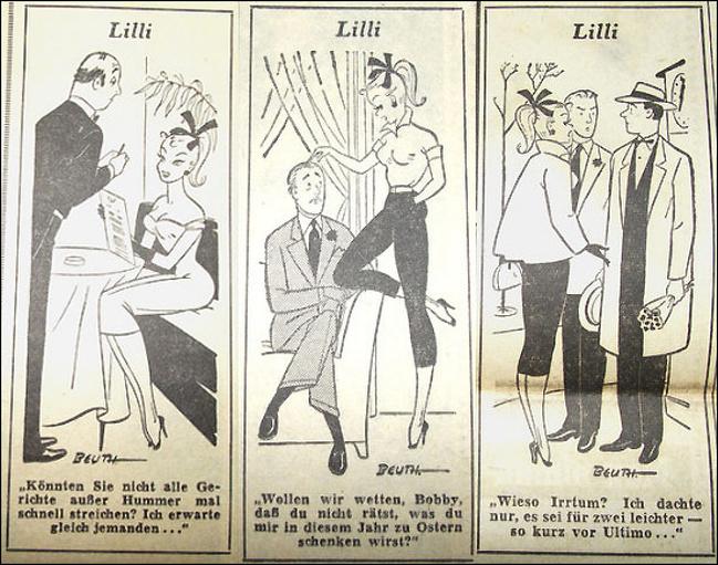 Что известно оЛилли Бильд— кукле для взрослых, которая стала прообразом Барби интересные факты,история,мир,наука,увлечения