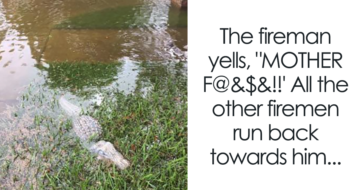 This Fireman Thought He Was Going To Die, But It All Ended Hilariously