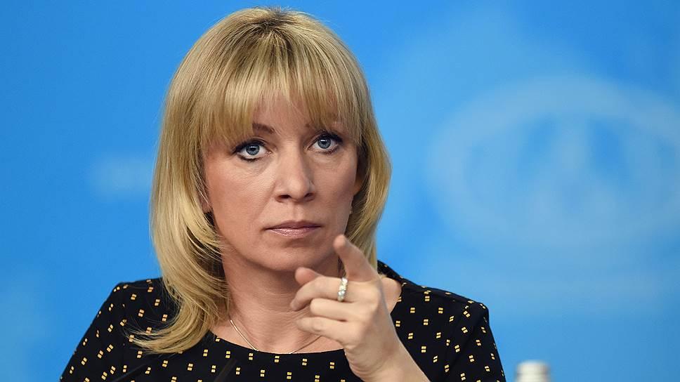 «Давайте оценку Борису Джонсону»: Захарова осадила Терезу Мэй за Лаврова
