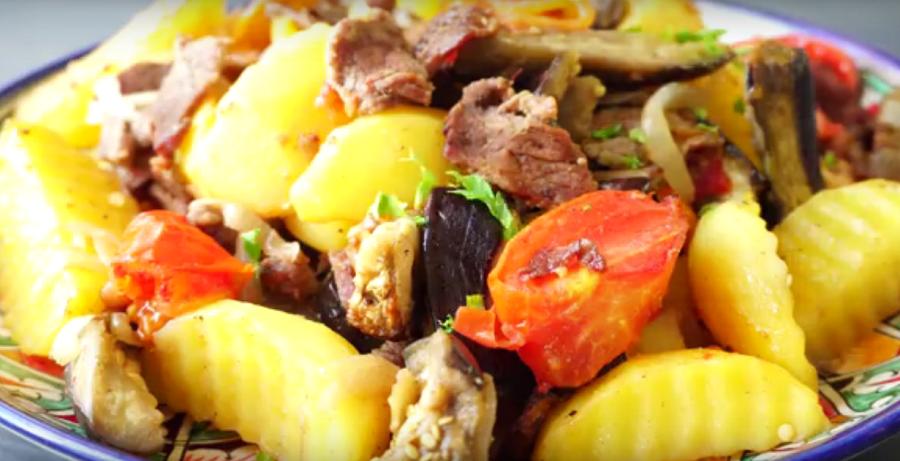 Вкусный ужин для ленивых — быстро, просто и все сыты